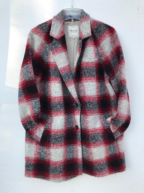 Madewell Tweed Winter Coat