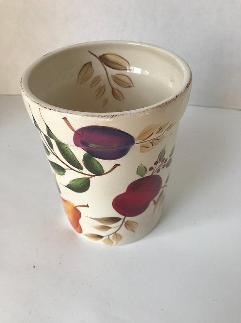 Ceramic Fruit Utensil Holder