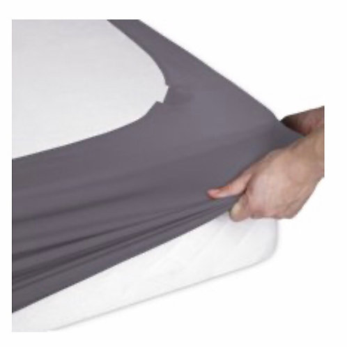 Queen Size Spandex Bedskirt Style Wrap