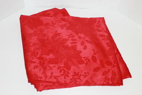 "98"" Rectangular Holiday Table Cloth"