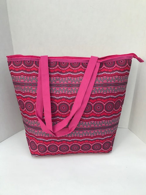 Pink Insulated Cooler Bag