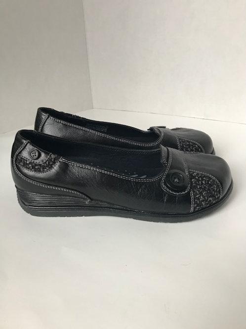 Dansko Black Leather Loafer