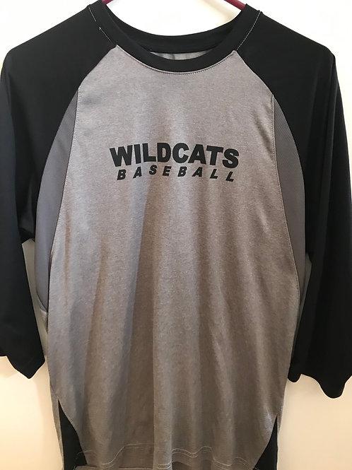 Deep Run Wildcats Baseball Dro-Fit Longsleeve Tee