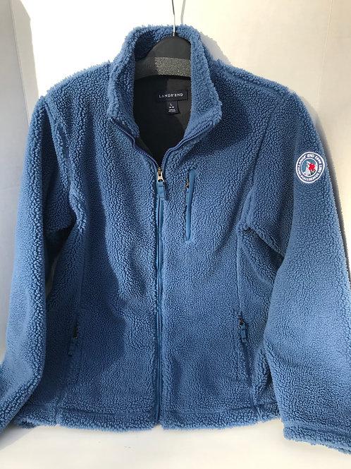 Boy's Lands End Blue Fleece Jacket