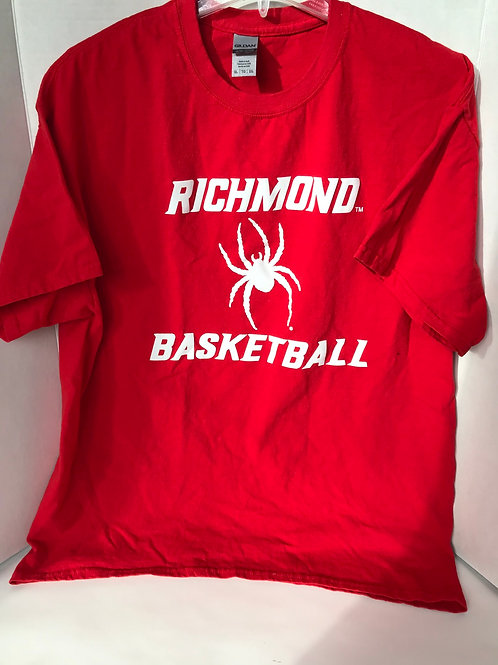 University of Richmond Spoders Basketball Tee