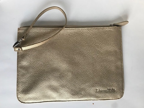 LouenHide Gold Leather Wristlette