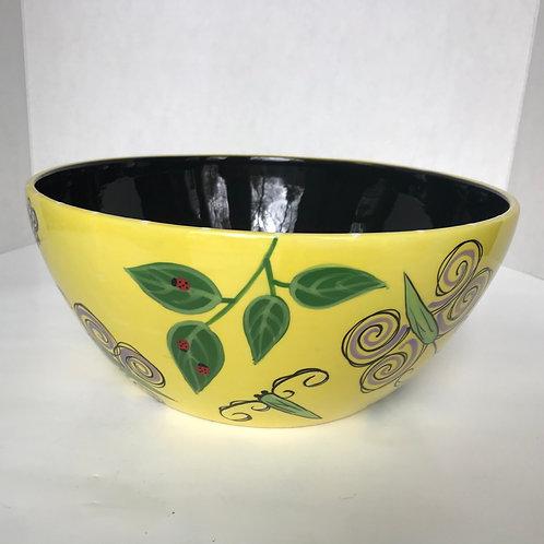 Garden Life Ceramic Serving Bowl