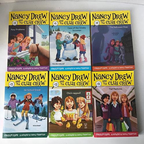 Nancy Drew and the Clue Crew (6 Books)