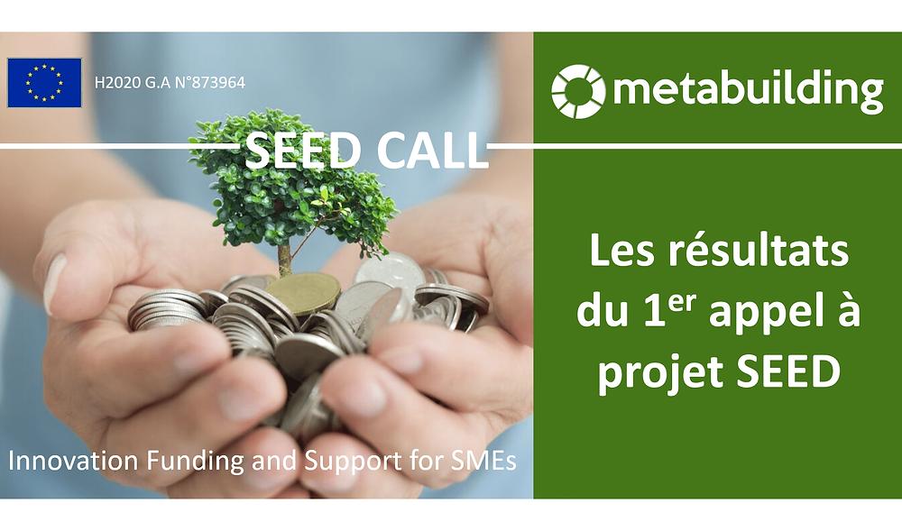 Metabuild : Les résultats du 1er appel à projet SEE, bimeo lauréat