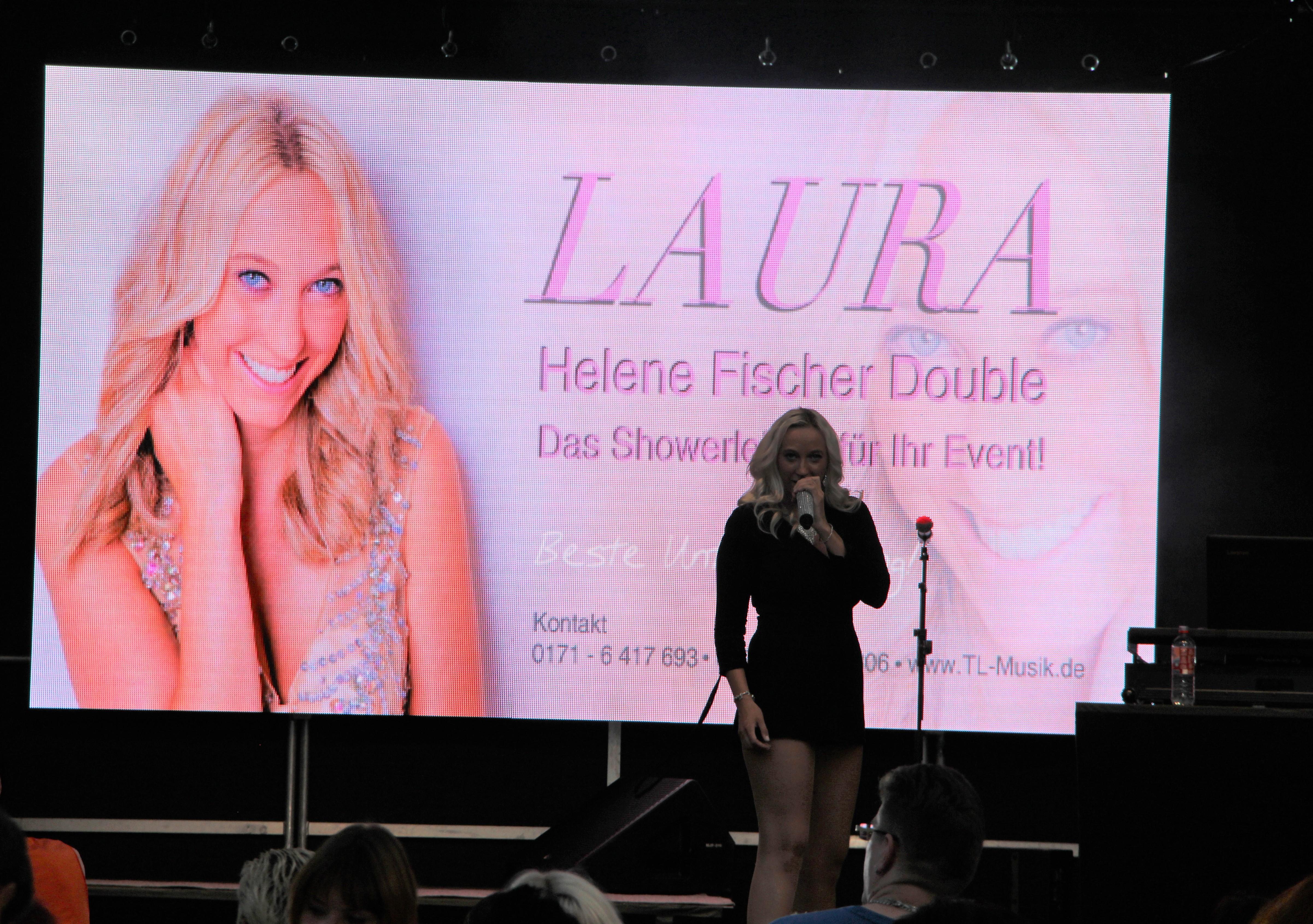 Helene Fischer Double LAURA