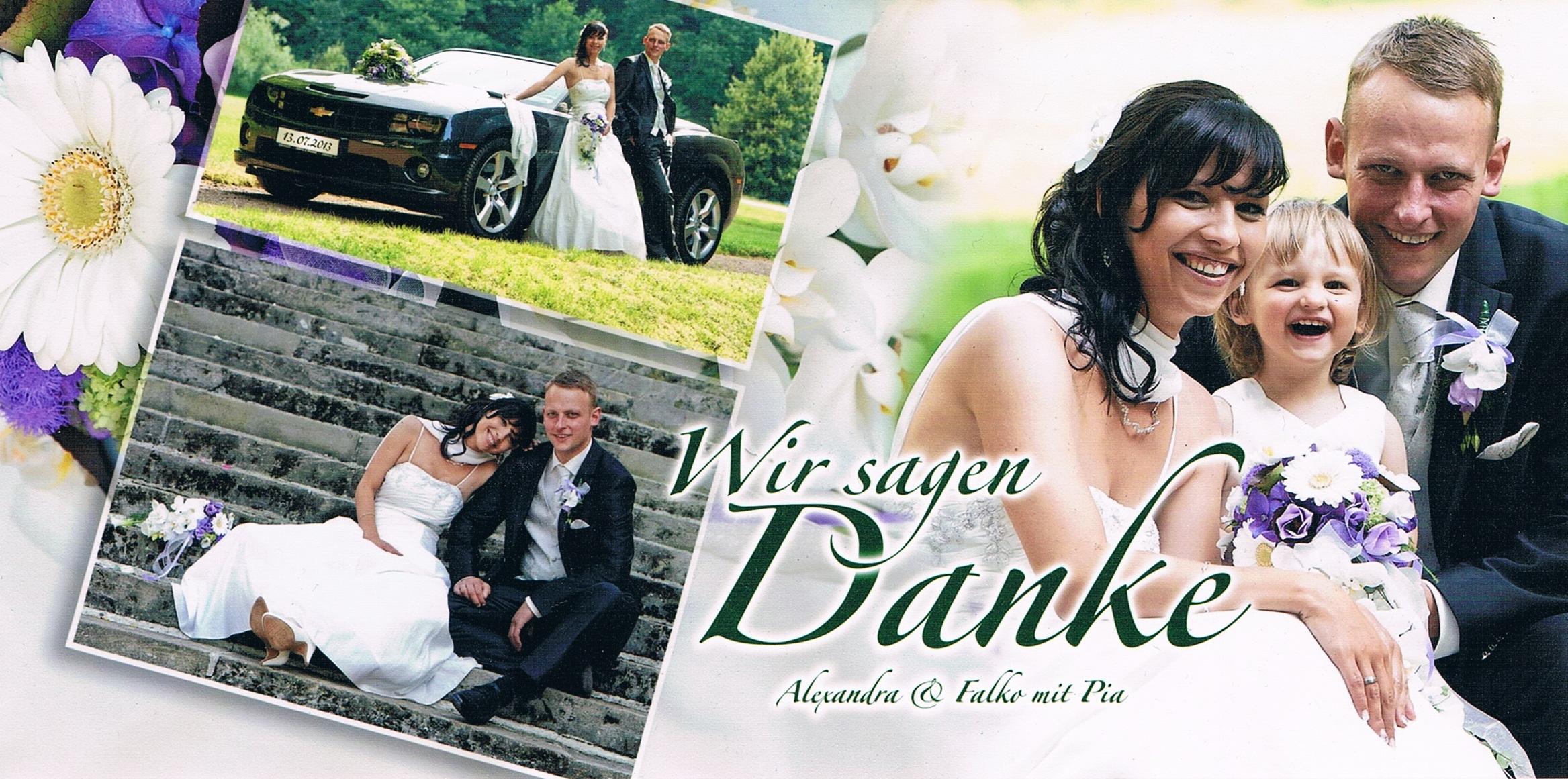 Hochzeit Alexandra und Falko