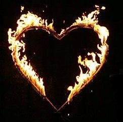 brennendes Herz - Kopie