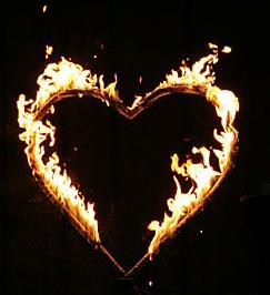 Das brennende Herz Hochzeit Sachsen