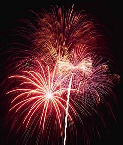 Feuerwerk für Hochzeit und Event
