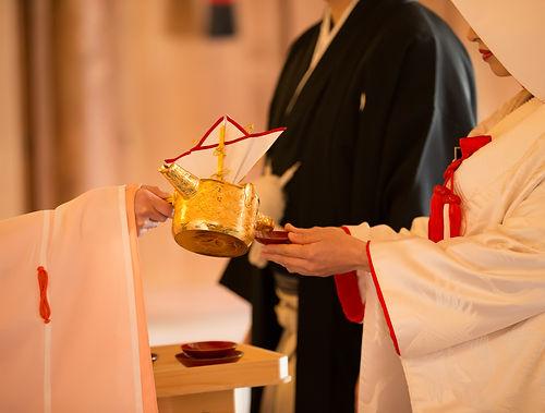 椿神社・神前結婚式撮影