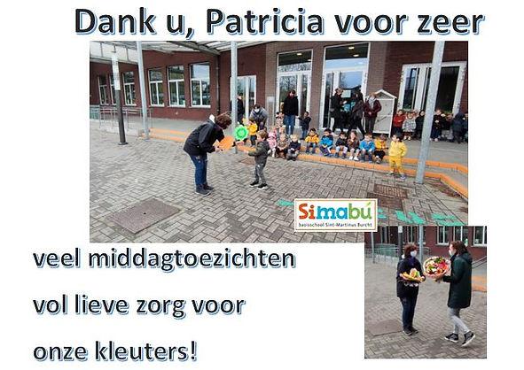 Patricia Van Lombergen_bedanking website