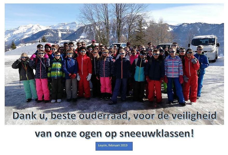 OR_bedanking zonnebrillen sneeuwklassen