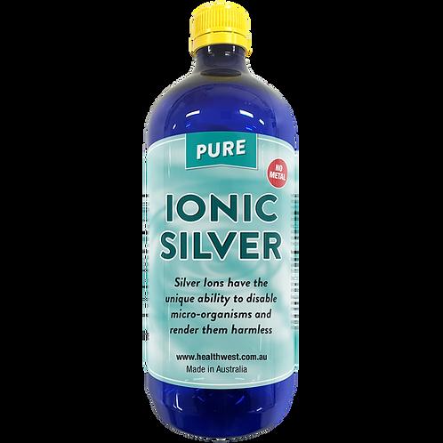 Ionic Silver 20 PPM 1L PET Bottle