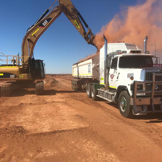 SRF Transportation Red dirt