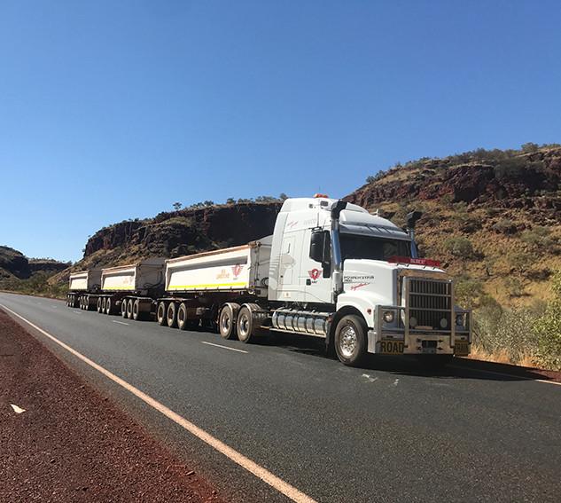SRF Transport Truck