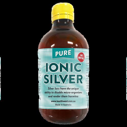 Ionic Silver 20 PPM 500ml GLASS Bottle