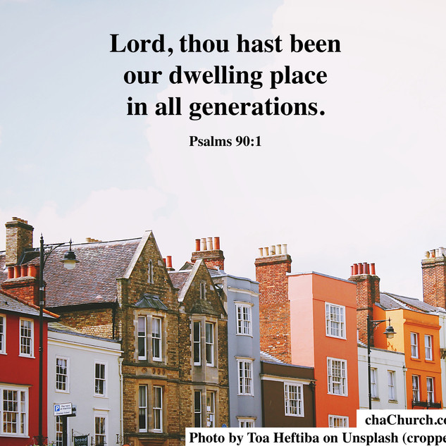 Lord, thou has been our dwelling place