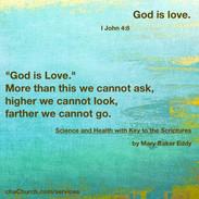 I John 4:8