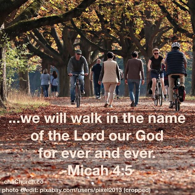 Micah 4:5