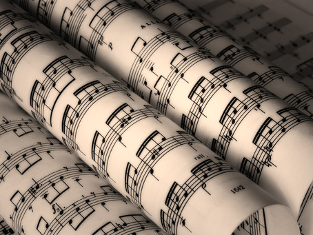 New Sheet Music Available!