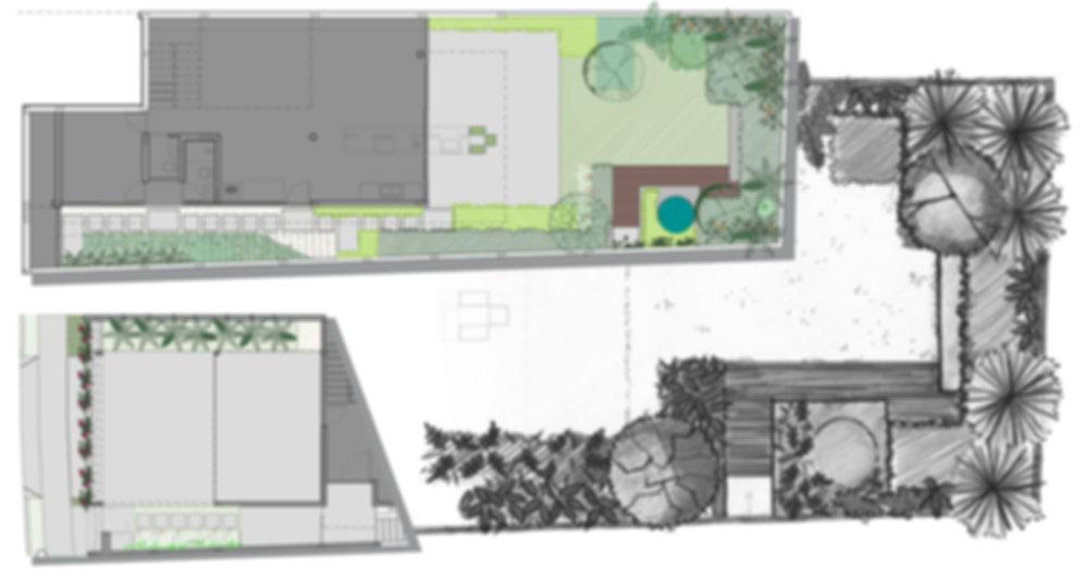 implantação paisagimo residencial