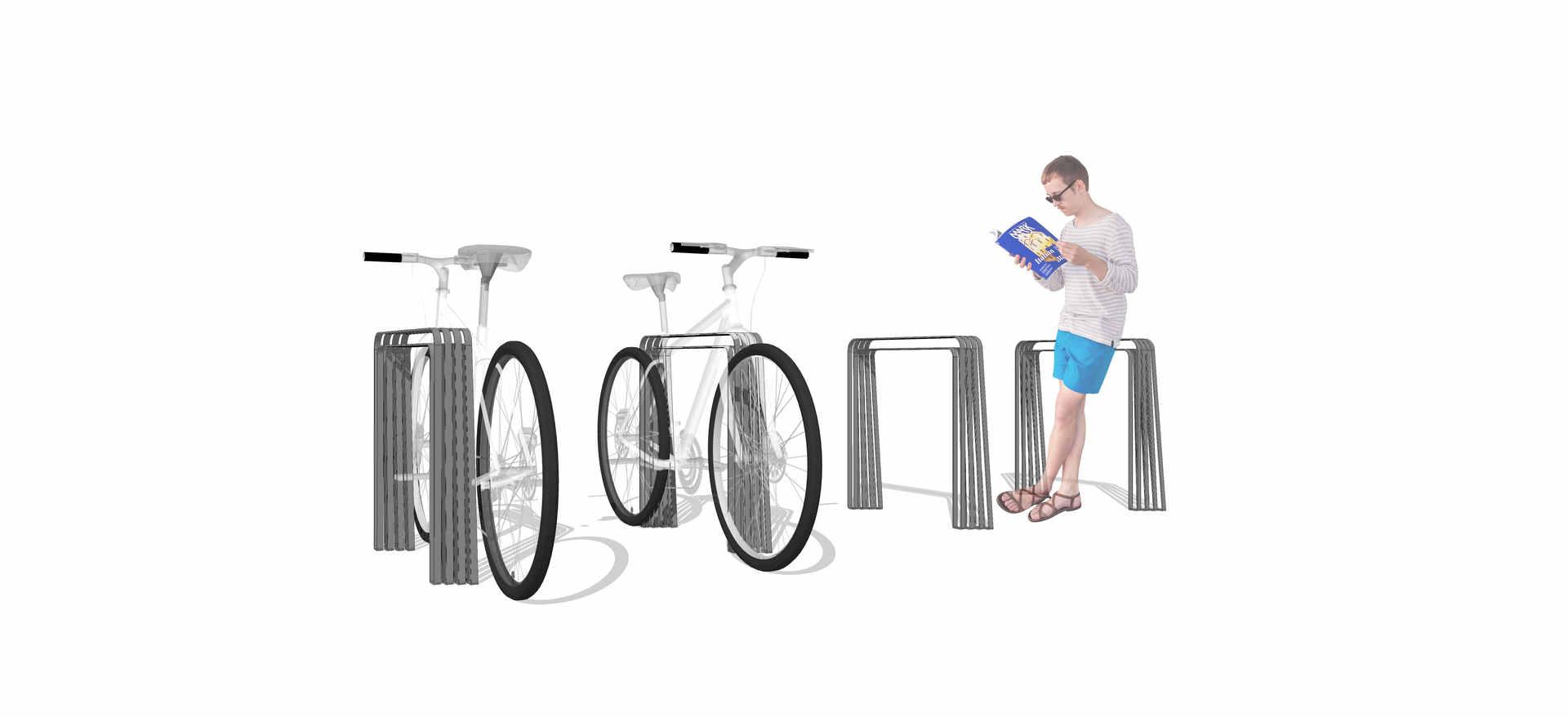 bicicletario mobiliario urbano