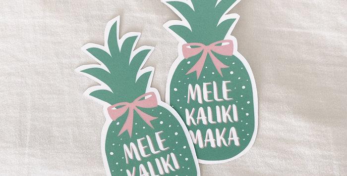 【FREE】Mele Kalikimaka Tag
