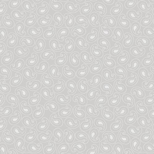 Illusions Gray Paisley