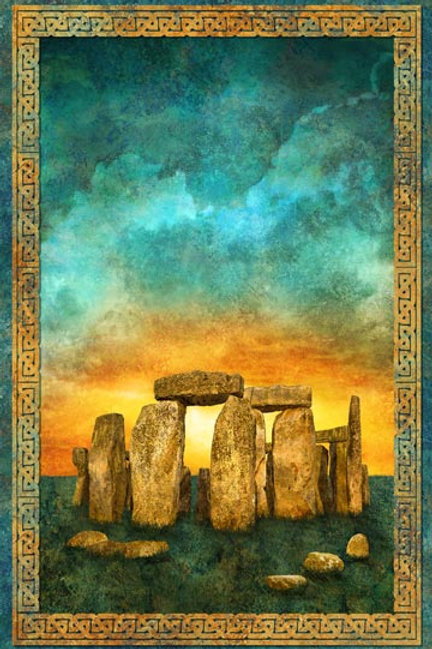 """Stonehenge Panel  """"24x 42"""