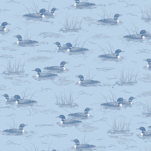 Peaceful Loons