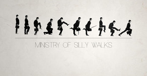 Monty Python Ministry of Silly Walks (1970) - Comedy Recess