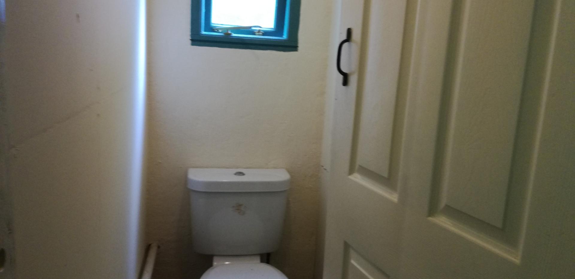 Utility room toilet