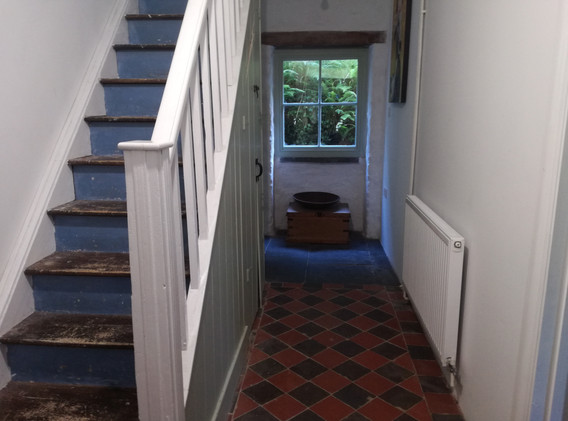 Big house hallway and stairs