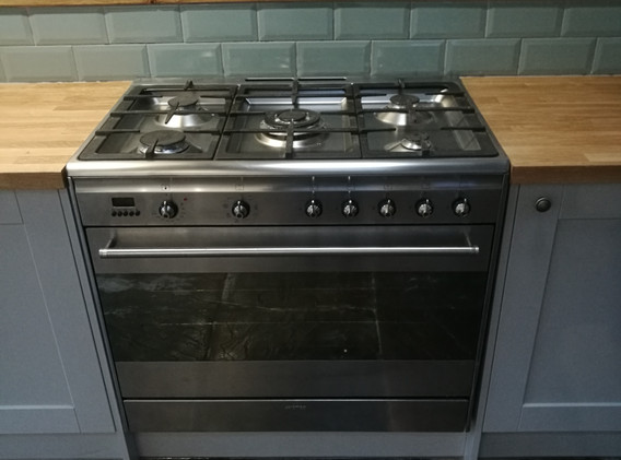 Big kitchen cooker