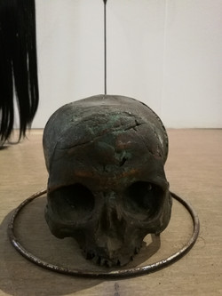 'MORTALE HOC SPIRAM' (Detail 8)