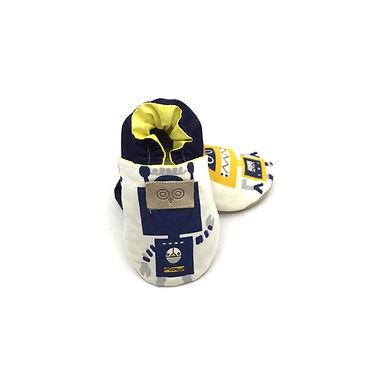 Sarı Lacivert Robotlar Play Moots Makosen