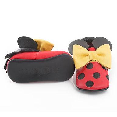Red Mickey Mouse Moots
