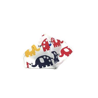 Sevimli Filler  %100 Pamuklu  2 katlı Çocuk Maskesi