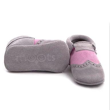 Grey Pink Oxford  Moots Makosen