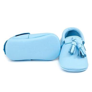 Baby Blue Tassel Moots