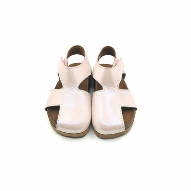 Sindrella Pudra Hakiki Deri Moots Sandalet