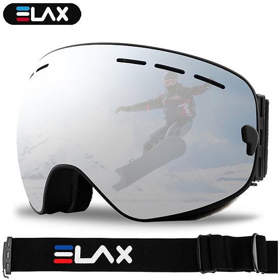 ELAX BRAND NEW Double Layers Anti-Fog Ski Goggles