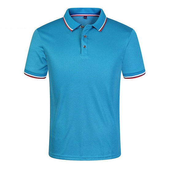 New 2020 Solid Color Summer Polo  Men