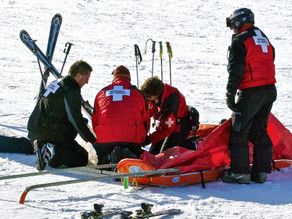 What to do if you have an accident when skiing?