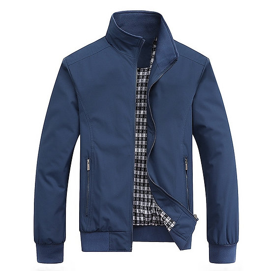2020 Spring Autumn Casual  Slim Jacket Men